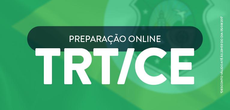 TRT/CE   Curso