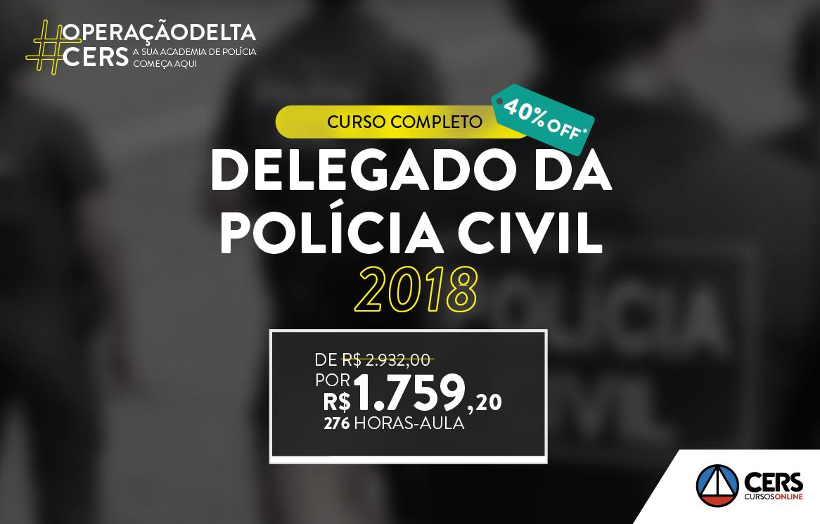 DELEGADO 40% 2018 | Principal