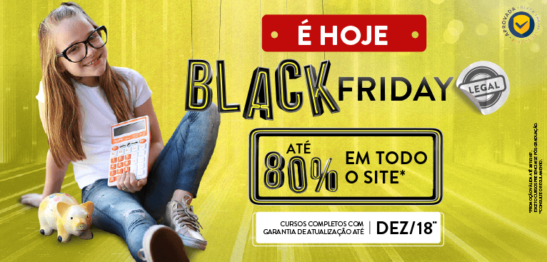 Black Friday É HOJE | mobile