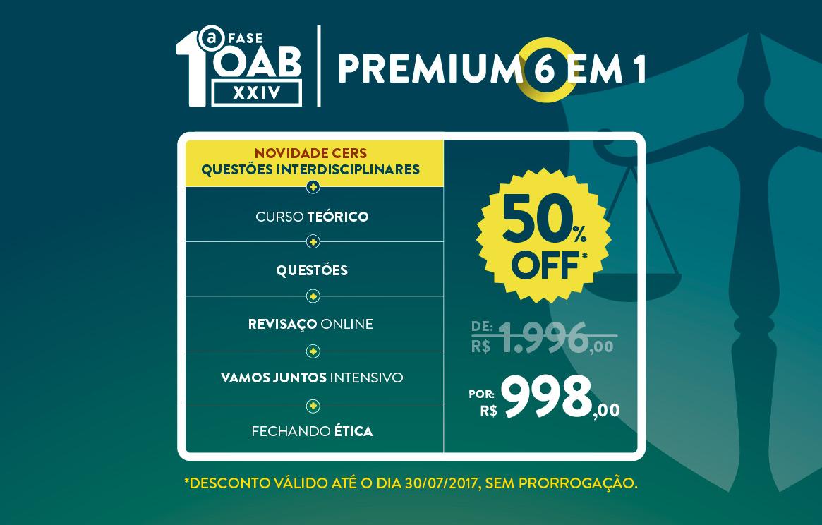 Premium 6 em 1 | Aproveite!