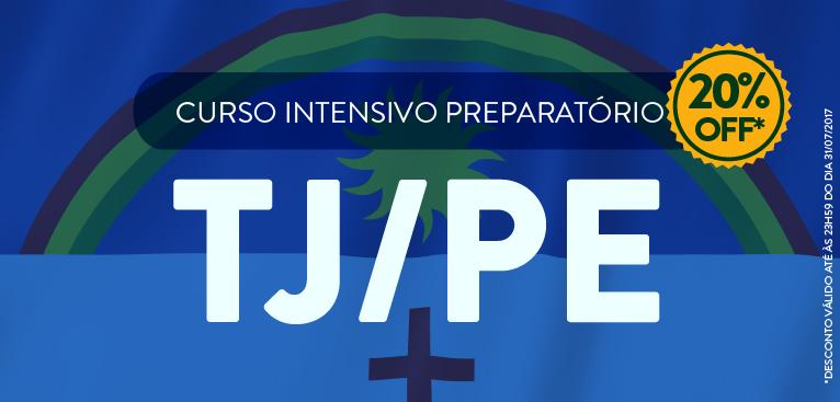 TJ/PE - 20% de desconto