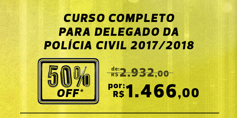 Black Friday É HOJE | delegado