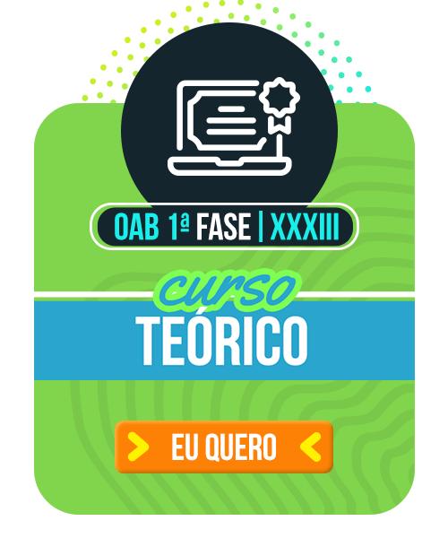 [CERS] OAB XXXIII - Teórico