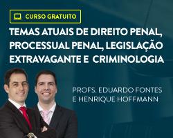 Temas atuais de Direito Penal, Processual Penal, Legislação Extravagante e Criminologia