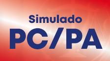 Simulado concurso PC PA