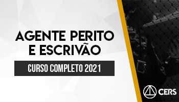 CURSO COMPLETO AGENTE PERITO E ESCRIVÃO 2021
