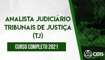 Curso Completo Analista Judiciário Tribunais de Justiça (TJ) 2021