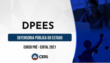 Curso Pré-Edital para o Concurso DPE ES