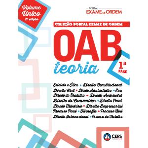 Coleção Portal Exame de Ordem - OAB 1ª Fase - Teoria