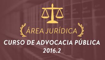 CURSO COMPLETO PARA ADVOCACIA PÚBLICA 2016.2