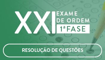 CURSO DE RESOLUÇÃO DE QUESTÕES ONLINE PREPARATÓRIO PARA OAB 1ª FASE XXI EXAME DE ORDEM UNIFICADO