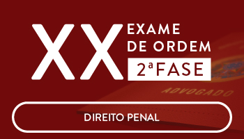 CURSO DE DIREITO PENAL PARA A OAB 2 FASE - XX EXAME DE ORDEM UNIFICADO - PROFs. ANA CRISTINA MENDONÇA e GEOVANE MORAES