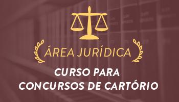 CURSO COMPLETO PARA CONCURSOS DE CARTÓRIO (OUTORGA DE DELEGAÇÃO DE SERVIÇOS NOTARIAIS E DE REGISTROS PÚBLICOS) 2016.2