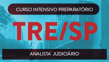 TRE/SP - CURSO INTENSIVO PREPARATÓRIO PARA O TRIBUNAL REGIONAL ELEITORAL DO ESTADO DE SÃO PAULO - ANALISTA JUDICIÁRIO - ÁREA JUDICIÁRIA