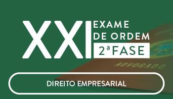 CURSO DE DIREITO EMPRESARIAL PARA OAB 2ª FASE - XXI EXAME DE ORDEM UNIFICADO - PROFESSOR FRANCISCO PENANTE
