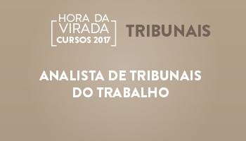 ANALISTA DE TRIBUNAIS DO TRABALHO