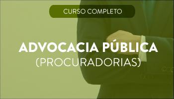 CURSO PARA ADVOCACIA PÚBLICA (PROCURADORIAS)