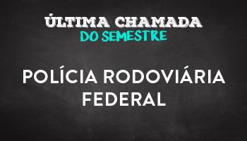 CURSO PARA POLÍCIA RODOVIÁRIA FEDERAL - PRF