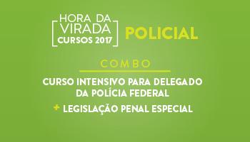 COMBO: CURSO INTENSIVO PARA DELEGADO DA POLÍCIA FEDERAL + LEGISLAÇÃO PENAL ESPECIAL