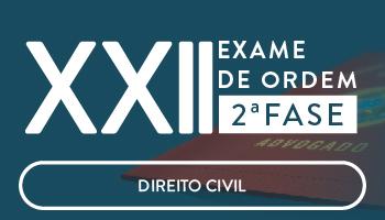 CURSO DE DIREITO CIVIL PARA A OAB 2ª FASE - XXII EXAME DE ORDEM UNIFICADO - PROFESSORES CRISTIANO SOBRAL, LUCIANO FIGUEIREDO, ROBERTO FIGUEIREDO, SABRINA DOURADO E ANDRÉ MOTA.