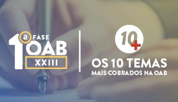 XXIII EXAME DE ORDEM  - PROJETO 10+