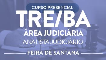CURSO PRESENCIAL PARA ANALISTA JUDICIÁRIO - ÁREA JUDICIÁRIA PARA  O TRE/BA