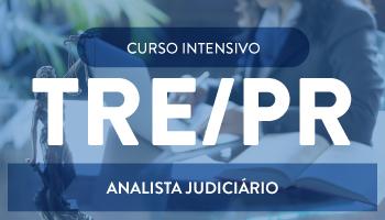 """CURSO INTENSIVO PARA O TRE/PR - ANALISTA JUDICIÁRIO - ÁREA JUDICIÁRIA - """"PROJETO UTI"""" DE TEORIA E QUESTÕES"""