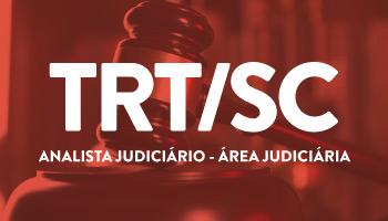 CURSO DE DICAS TEÓRICAS E QUESTÕES PARA O CONCURSO DO TRIBUNAL REGIONAL DO TRABALHO DE SANTA CATARINA (TRT/SC - 12ª REGIÃO) - ANALISTA JUDICIÁRIO - ÁREA JUDICIÁRIA
