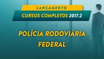 CURSO ONLINE POLÍCIA RODOVIÁRIA FEDERAL  PRF 2017.2