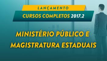 CURSO ONLINE MINISTÉRIO PÚBLICO E MAGISTRATURA ESTADUAIS 2017