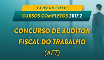CURSO ONLINE PARA O CONCURSO DE AUDITOR FISCAL DO TRABALHO (AFT)
