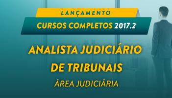 CURSO ONLINE ANALISTA JUDICIÁRIO DE TRIBUNAIS - ÁREA JUDICIÁRIA