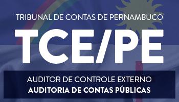 TRIBUNAL DE CONTAS DE PERNAMBUCO 2017  CARGO AUDITOR