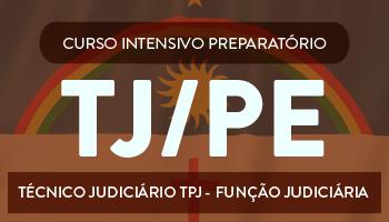 CURSO PARA O CONCURSO DO TRIBUNAL DE JUSTIÇA DE PERNAMBUCO (TJ/PE) - TÉCNICO JUDICIÁRIO – TPJ/ FUNÇÃO JUDICIÁRIA