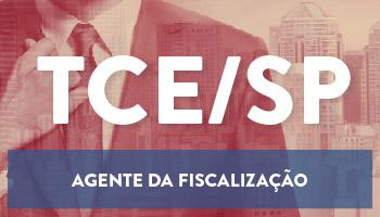 CURSO ONLINE TCE/SP - AGENTE FISCALIZAÇÃO