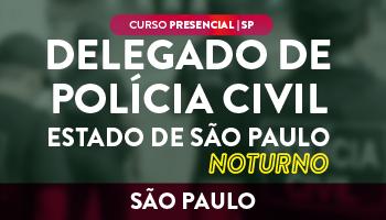 CERS SÃO PAULO - CURSO PRESENCIAL PREPARATÓRIO PARA O CONCURSO DE DELEGADO DA POLÍCIA CIVIL DE SÃO PAULO – DELTA - NOTURNO - RESOLUÇÃO DE QUESTÕES