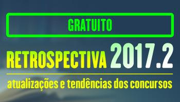 PROJETO RETROSPECTIVA 2017.2 - CERS CURSOS ONLINE