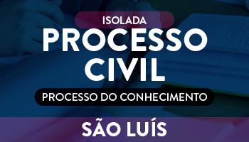 ISOLADA - PROCESSO CIVIL  (PROCESSO DO CONHECIMENTO)