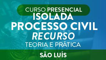 ISOLADA - PROCESSO CIVIL  (RECURSO)