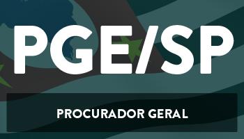 CURSO INTENSIVO DE DICAS TEÓRICAS E RESOLUÇÃO DE QUESTÕES PARA O CONCURSO DA PROCURADORIA GERAL DO ESTADO DE SÃO PAULO (PGE/SP)