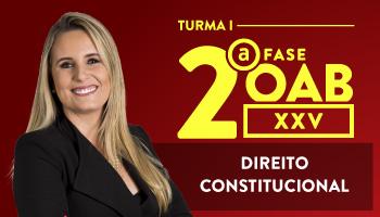 CURSO DE DIREITO CONSTITUCIONAL PARA OAB 2ª FASE - XXV EXAME DE ORDEM UNIFICADO -  PROFa. FLAVIA BAHIA (TURMA I)