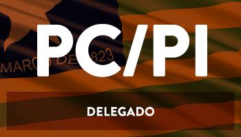 CURSO INTENSIVO PARA O CONCURSO DELEGADO DA POLÍCIA CIVIL DO PIAUÍ  - DICAS TEÓRICAS E QUESTÕES  (BÔNUS: 2ª FASE) - DPC/PI