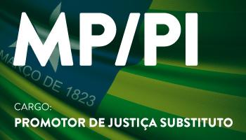 CURSO PARA O CONCURSO DO MINISTÉRIO PÚBLICO DO PIAUÍ – MP/PI – PROMOTOR