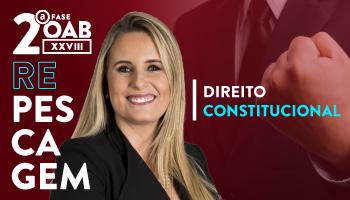 CURSO DE DIREITO CONSTITUCIONAL PARA OAB 2ª FASE - XXVIII EXAME DE ORDEM UNIFICADO – PROFESSORA FLAVIA BAHIA (REPESCAGEM)
