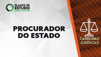 3 MESES | PLANOS DE ESTUDOS COM TUTOR | CURSO CONCURSO PROCURADOR DO ESTADO (PGE)