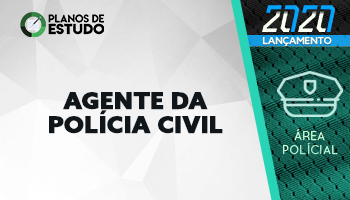 3 MESES   PLANOS DE ESTUDO COM TUTOR   AGENTE DA POLÍCIA CIVIL