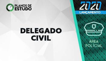 12 MESES | PLANOS DE ESTUDO COM TUTOR | CURSO CONCURSO DELEGADO DE POLÍCIA CIVIL (DPC) - Concurso PC PB