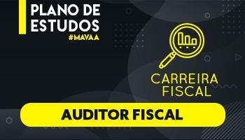 3 MESES | PLANOS DE ESTUDO COM TUTOR | AUDITOR FISCAL