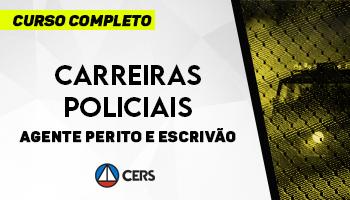 CURSO COMPLETO PARA CARREIRAS POLICIAIS – AGENTE PERITO E ESCRIVÃO – 2020 - CONCURSO PC CE