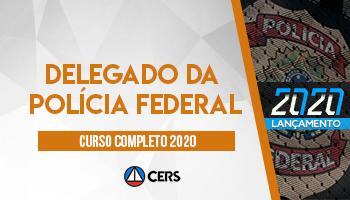 CURSO COMPLETO PARA DELEGADO DA POLÍCIA FEDERAL – DPF  2020